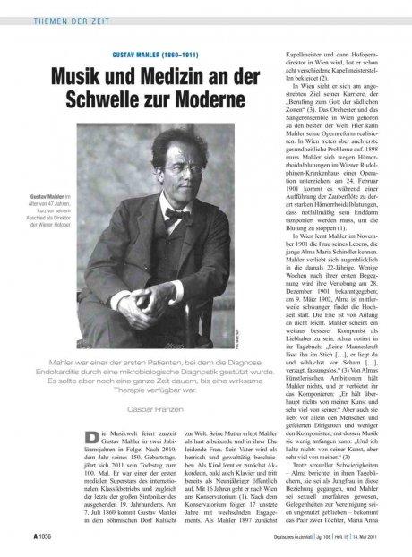 Gustav Mahler (1860–1911)