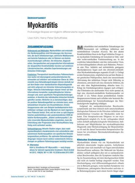 Myokarditis