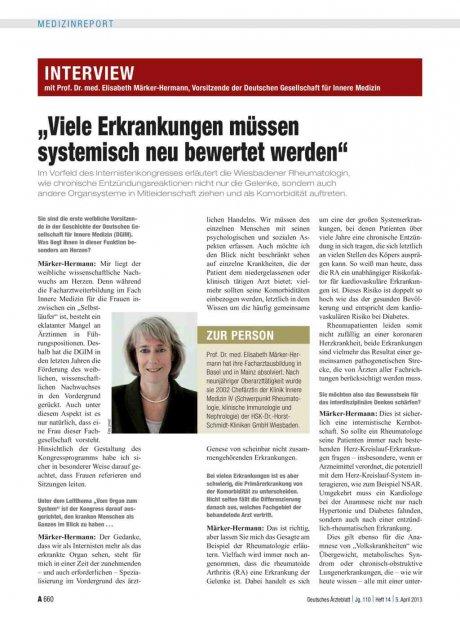 Interview mit Prof. Dr. med. Elisabeth...