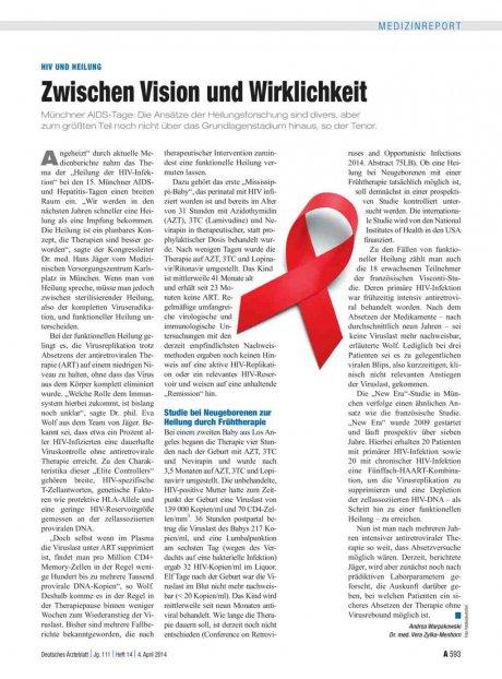 HIV und Heilung: Zwischen Vision und Wirklichkeit