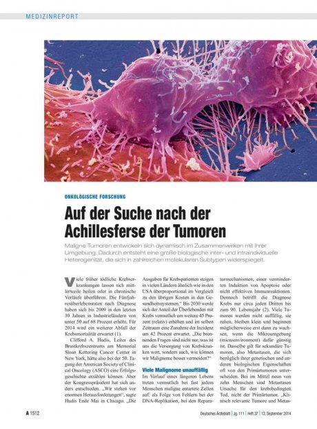Onkologische Forschung