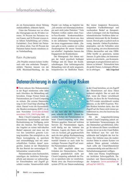 Datenarchivierung in der Cloud birgt Risiken