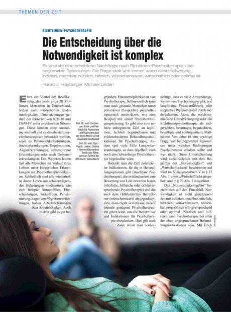 Richtlinien-Psychotherapie