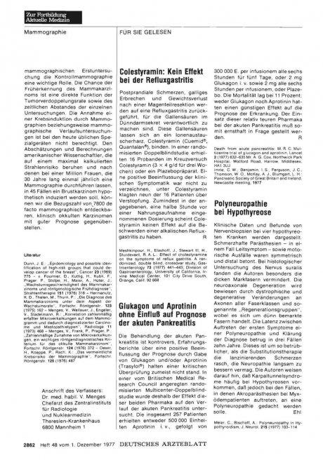 Polyneuropathie bei Hypothyreose