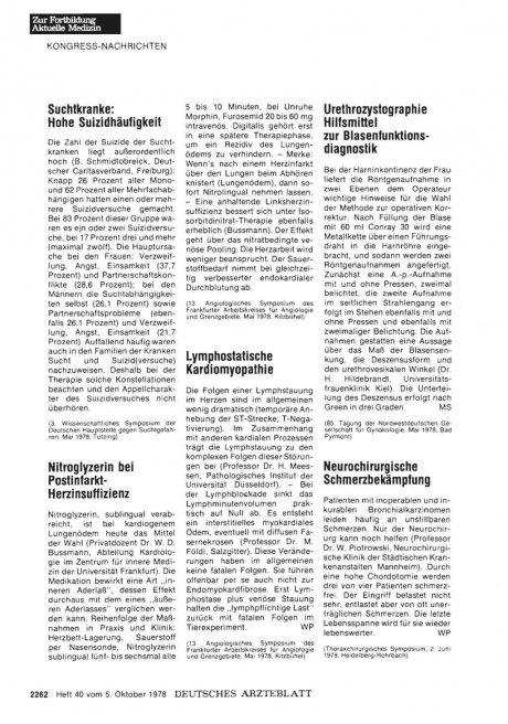 Urethrozystographie Hilfsmittel zur...
