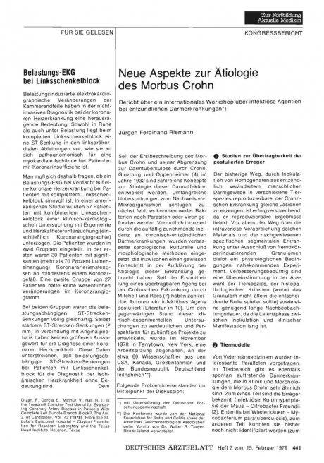 Belastungs-EKG bei Linksschenkelblock