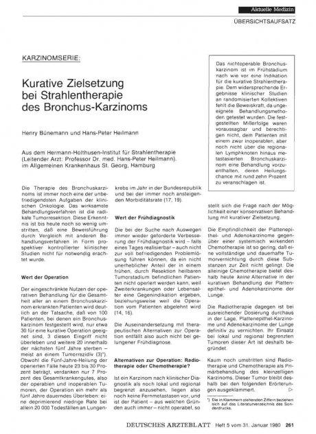 Karzinomserie