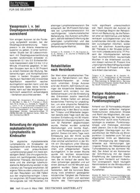 Vasopressin i. v. bei ösophagusvarizenblutung...