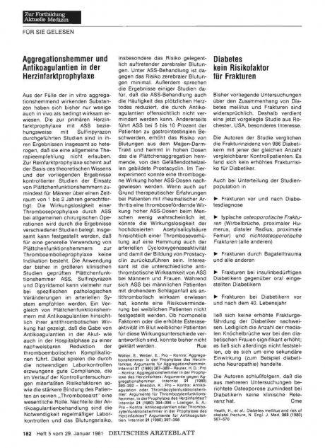 Aggregationshammer und Antikoagulantien in der...