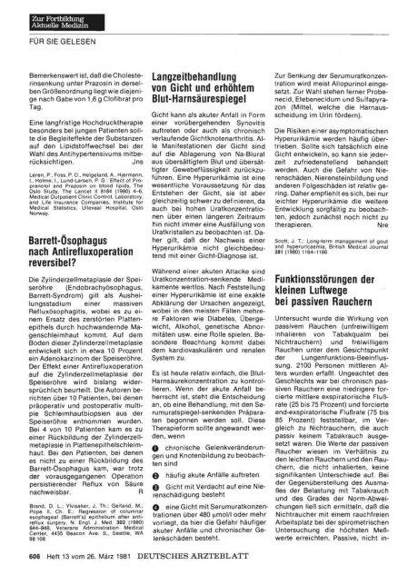 Barrett-Ösophagus nach Antirefluxoperation...