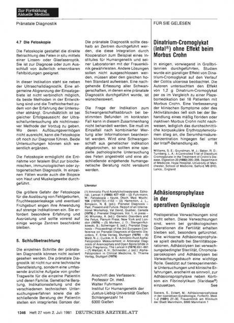 Dinatrium-Cromoglykat (lntal®) ohne Effekt beim...