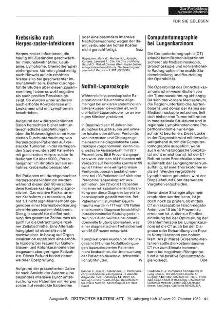 Notfall-Laparoskopie