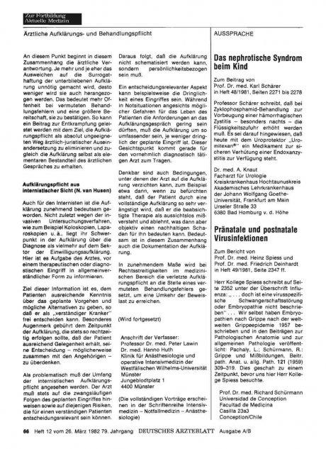 Pränatale und postnatale Virusinfektionen