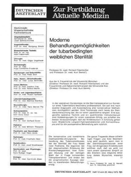 Moderne Behandlungsmöglichkeiten der...
