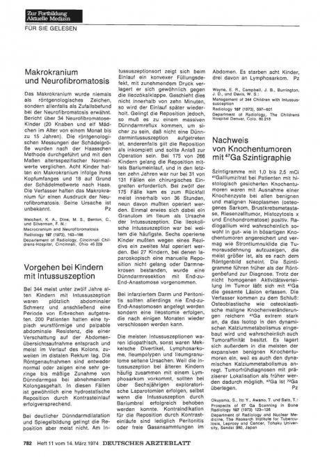 Makrokranium und Neurofibromatosis