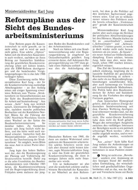 Ministerialdirektor Karl Jung