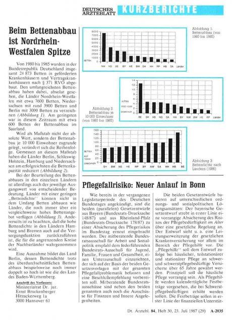 Pflegefallrisiko: Neuer Anlauf in Bonn
