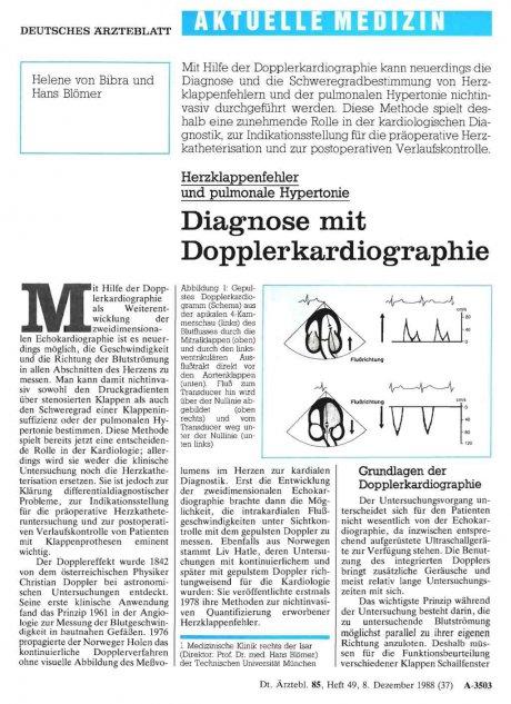 Herzklappenfehler und pulmonale Hypertonie...