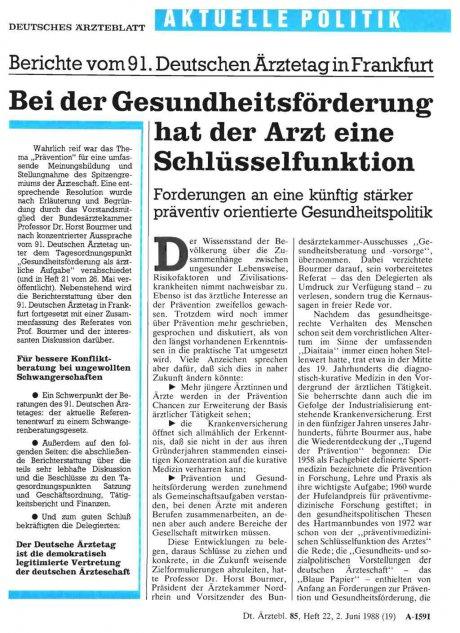 Berichte vom 91. Deutschen Ärztetag in Frankfurt