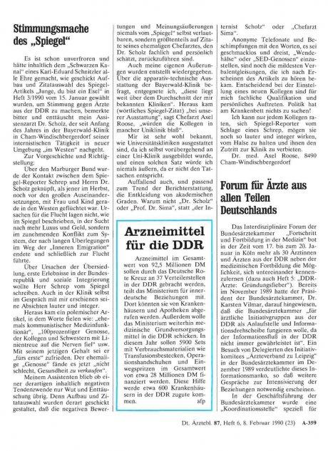 Arzneimittel für die DDR