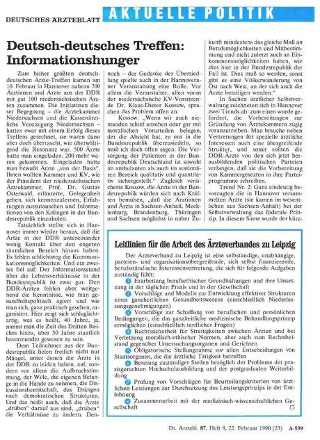 Deutsch-deutsches Treffen: Informationshunger