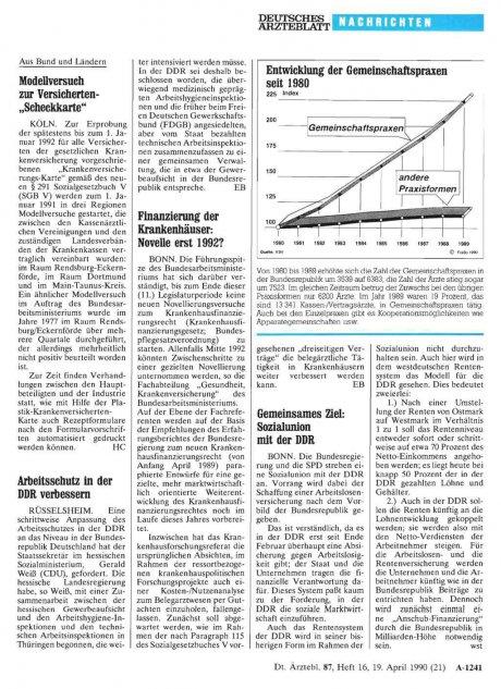 Arbeitsschutz in der DDR verbessern