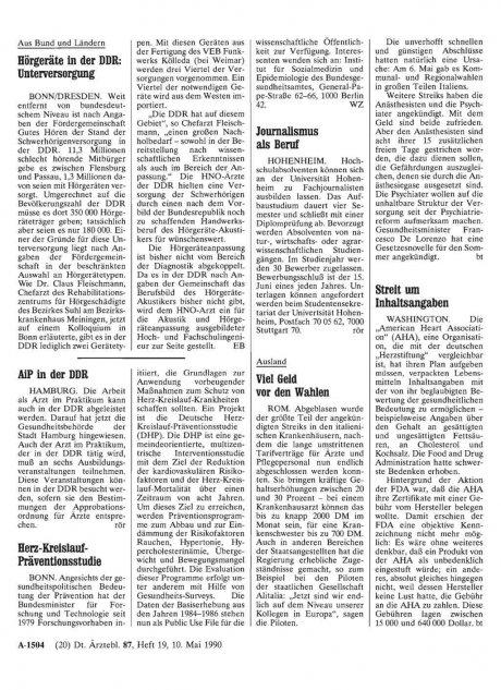 Hörgeräte in der DDR: Unterversorgung