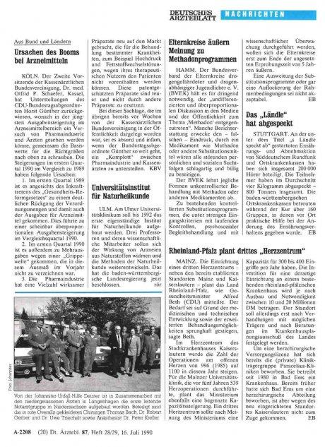 """Rheinland-Pfalz plant drittes """"Herzzentrum"""""""