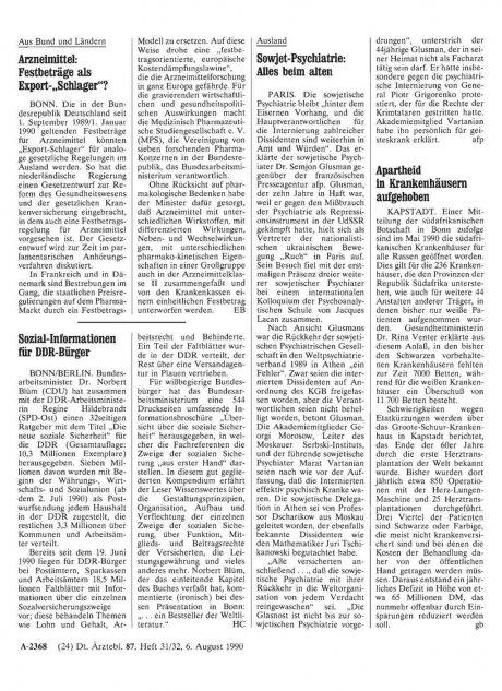 """Arzneimittel: Festbeträge als Export """"Schlager""""?"""