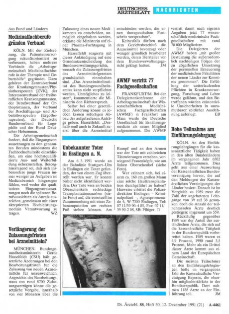 Unbekannter Toter in Esslingen a. N.
