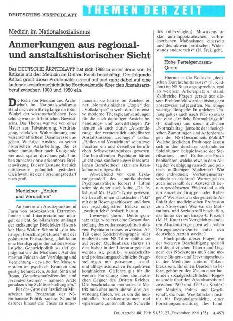 Medizin im Nationalsozialismus