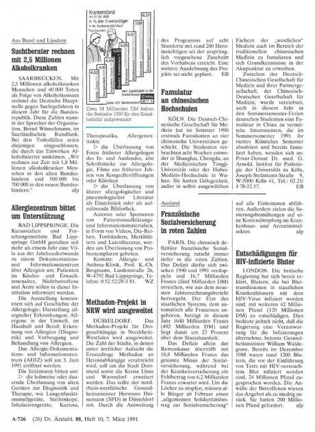Methadon-Projekt in NRW wird ausgeweitet