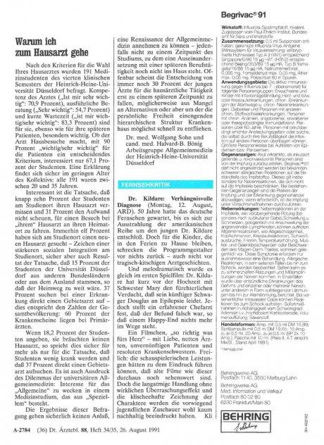 Fernsehkritik: Dr. Kildare: Verhängnisvolle Diagnose