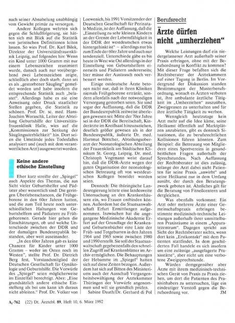 """Berufsrecht: Ärzte dürfen nicht """"umherziehen"""""""