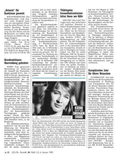 Thüringens Gesundheitsminister bittet Bonn um...