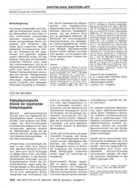 Pathophysiologische Gründe der hepatischen...