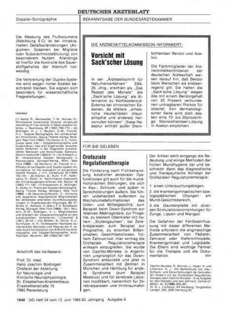 Orofaziale Regulationstherapie