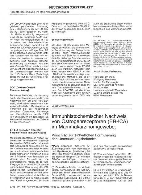 Immunhistochemischer Nachweis von...
