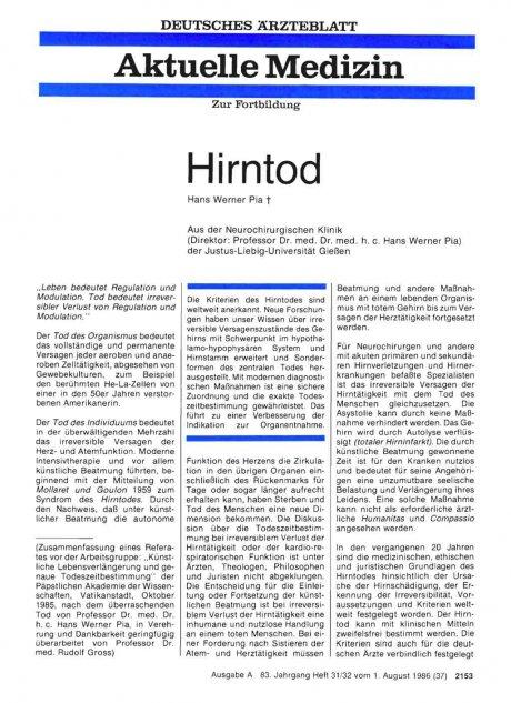 Hirntod