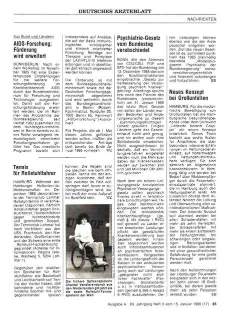Psychiatrie-Gesetz vom Bundestag verabschiedet