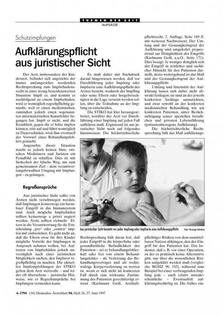 Schutzimpfungen