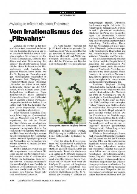 Mykologen erörtern ein neues Phänomen