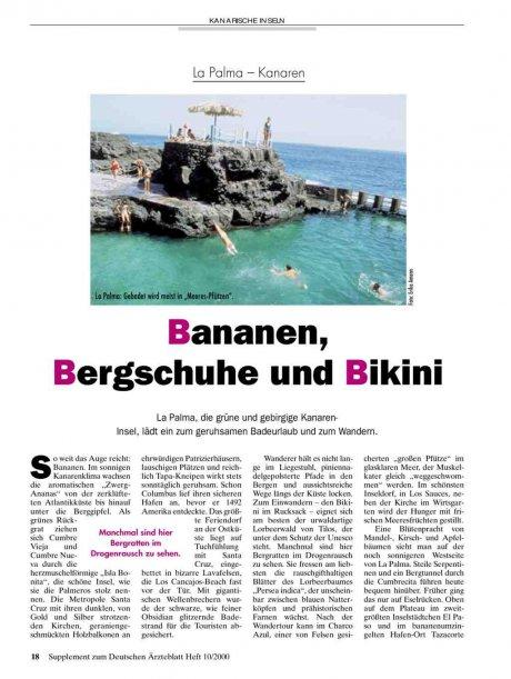 La Palma - Kanaren: Bananen, Bergschuhe und Bikini