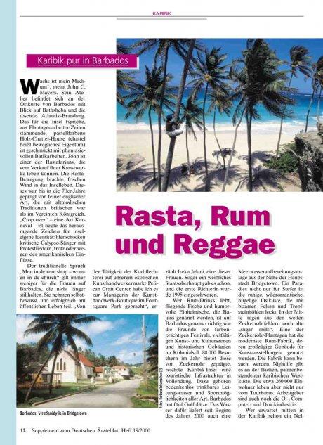 Karibik pur in Barbados: Rasta, Rum und Reggae