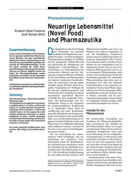 Pflanzenbiotechnologie