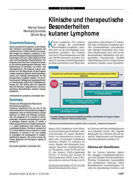 Klinische und therapeutische Besonderheiten...