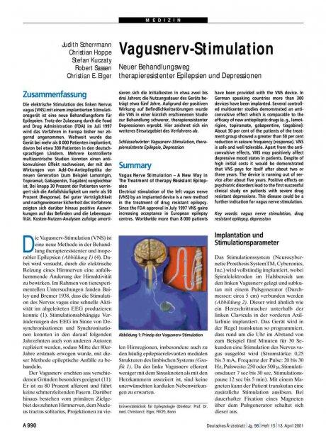 Vagusnerv-Stimulation