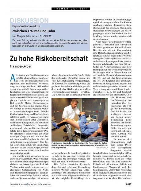 Reproduktionsmedizin - Zwischen Trauma und Tabu