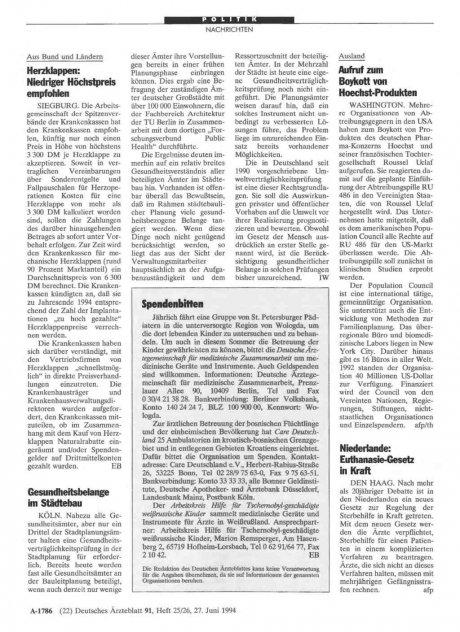 Niederlande: Euthanasie-Gesetz in Kraft