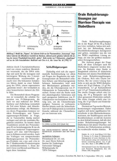 Prophylaxe der Thrombose und Lungenembolie